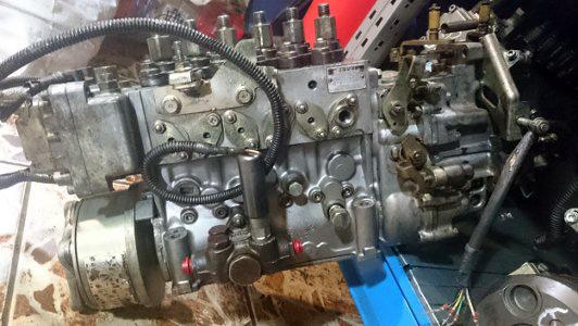 Производим замену рядного-электронного ТНВД на грузовиках Hino на рядный механический (предыдущих моделей Hino)
