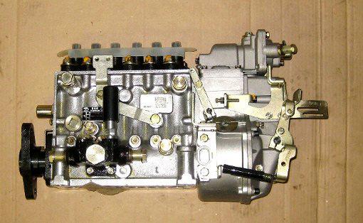 на простой в эксплуатации и дешевый в обслуживании рядный или одноплунжерный (VE) механический ТНВД (предыдущих моделей HOWO, Foton, BAW)