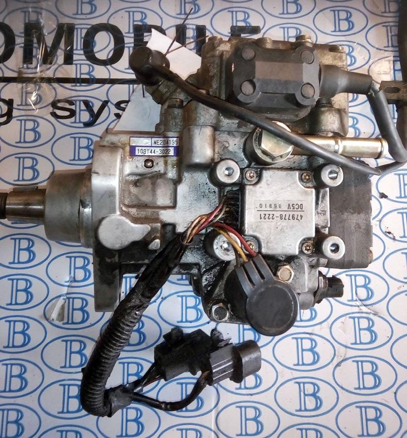 Производим замену электронно-роторного топливного насоса высокого давления, форсунок  на грузовиках и джипах  Mitsubishi на рядный или одноплунжерный (VE) механический (предыдущих моделей Mitsubishi)